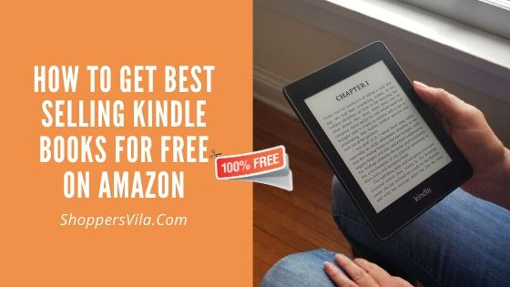 How To Get Best Selling Kindle Books For Free On Amazon