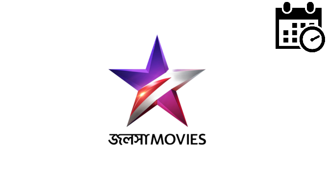 Star Jalsha Movies tv Programs list today, schedule, all popular Jalsha Movies tv live shows, timing, Films List, live tv app details