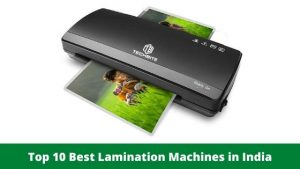 Top 10 Best Lamination Machines in India