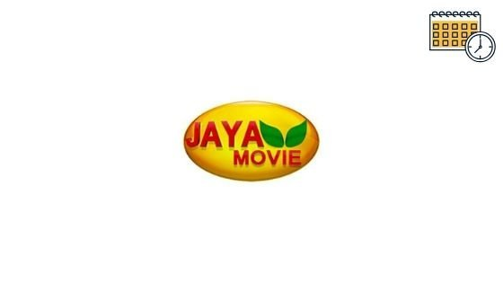 J Movie Schedule, Jaya Movies List, Live Tv & Show Timings Today
