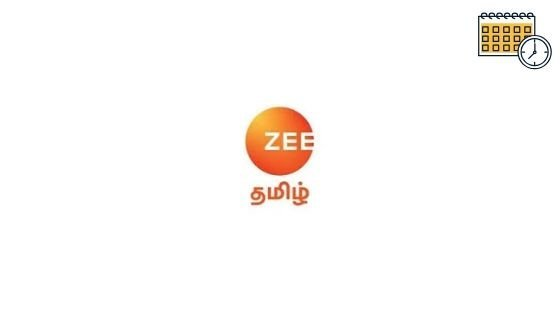 Photo of Zee Tamil Schedule, Zee Tv Tamil Serial List & Show Timings Today
