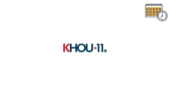 Photo of KHOU Tv Schedule & CBS (KHOU) Tv Listings Guide For Today