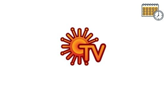 Photo of Sun Tv Schedule, Serials List & Show Timings For Today