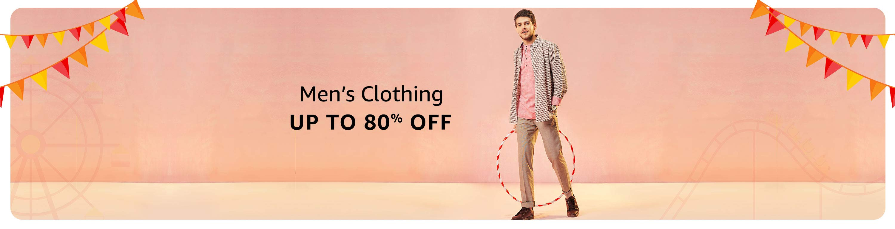 men's clothing offer on amazon