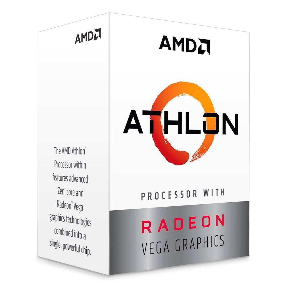 AMD Athlon 200GE with Radeon Vega 3 Graphics Desktop Processor-min