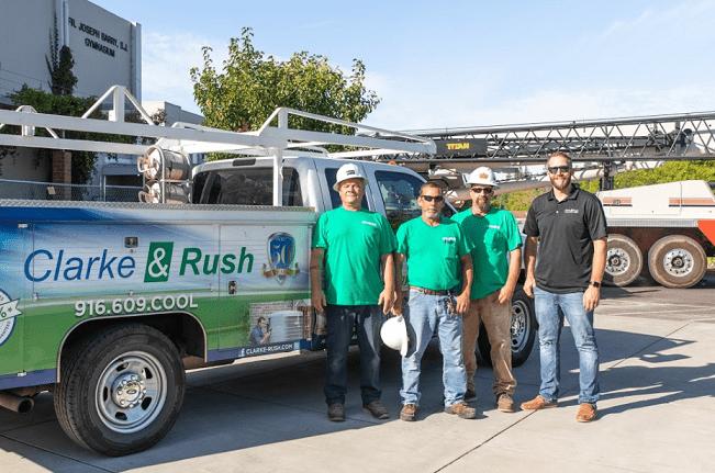 Clarke & Rush Heating, Ventilation & Air Conditioning Repair Service in Sacramento, Ca
