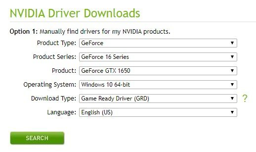 Xnxubd 2020 Nvidia Drivers Download From Drop Down Menu on Nvidia