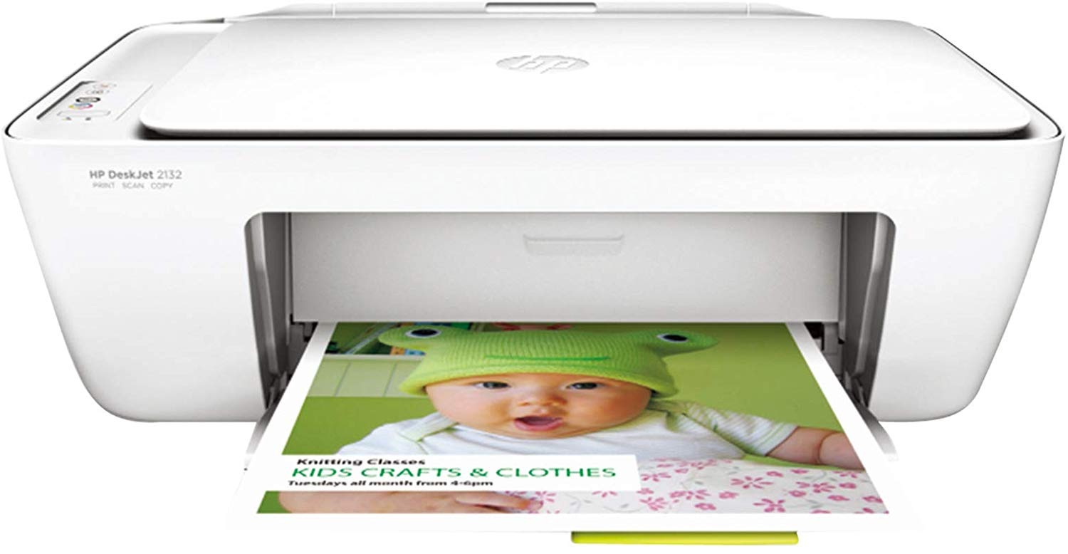 HP DeskJet 2132 All-in-One Inkjet Colour Printer cum scanner