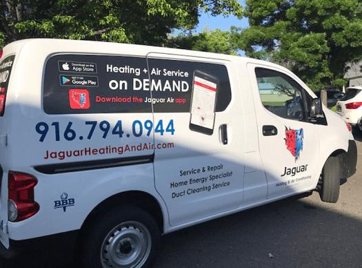 Jaguar Heating & Air Conditioning Repair in Sacramento, CA