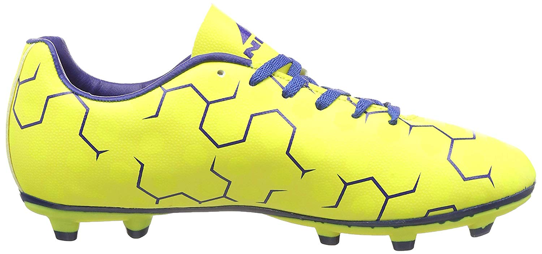 Nivia Ditmar Football Shoes, Men's(Yellow/Blue)