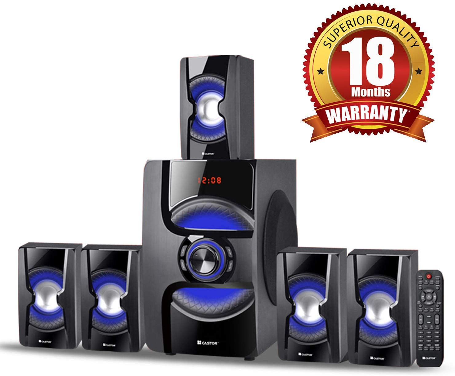iBELL Castor 2060DLX 5.1 Channel Home Theater System